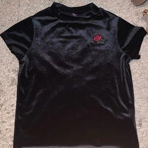 Kid girls Velvet shirt